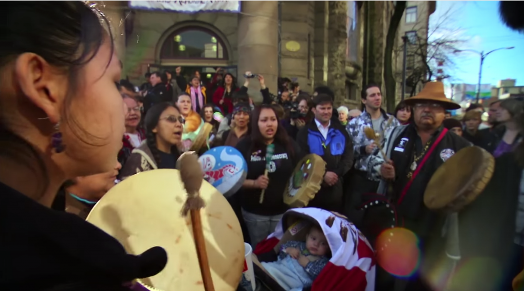 First Nations Drummers