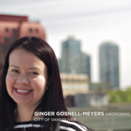 Ginger Gosnell-Myers Re-Imagines Downtown Vancouver