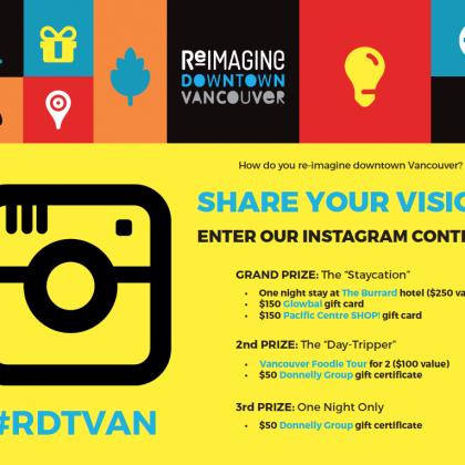 Enter the #RDTVan Instagram Contest!
