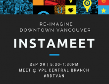 Re-Imagine Downtown Vancouver InstaMeet & Photo Walk