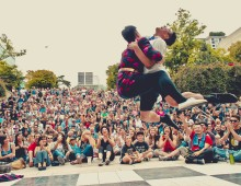 Street Dance Festival at Robson Square